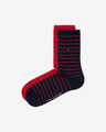 Tommy Hilfiger Small Stripe Sock Set of 2 pairs of socks