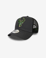 New Era Milwaukee Bucks NBA Dark Base Team 9Forty Cap