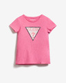 Guess Sequins Front Logo Kids T-shirt