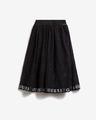 Guess Mesh Logo Kids Skirt
