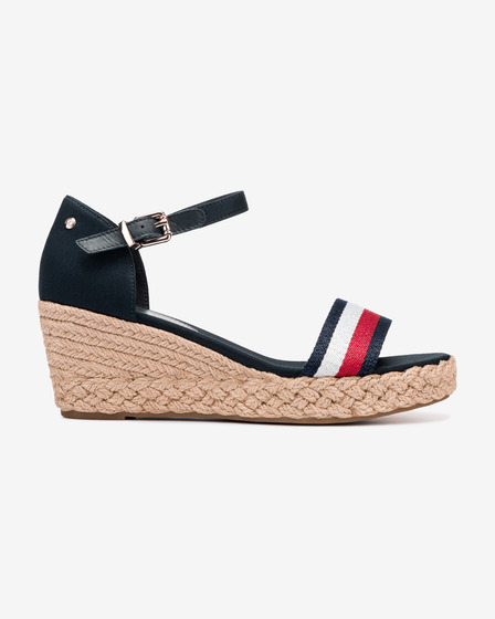 Tommy Hilfiger Shimmery Ribbon Wedges