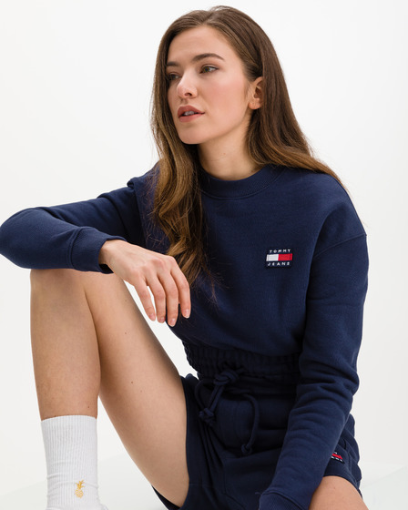 Tommy Jeans Super Cropped Badge Sweathirt