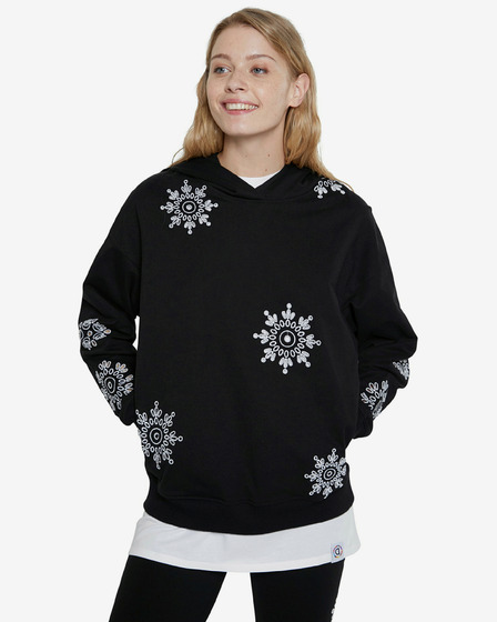 Desigual Swiss Embroidery Sweatshirt