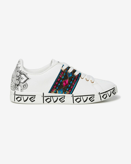 Desigual Cosmic Exotic Indian Sneakers