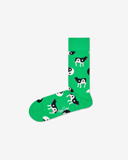Happy Socks Ying Yang Cow Socks